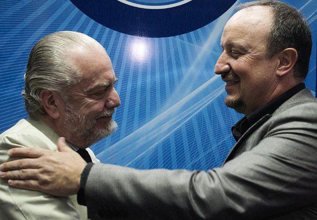 De Laurentiis con Benitez