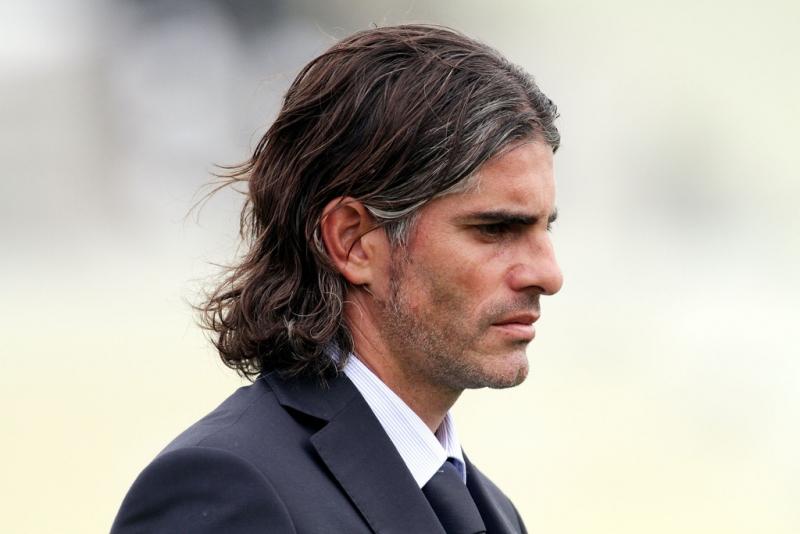 Il tecnico rossoblù Diego Lopez