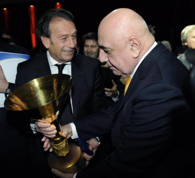 Massimo Cellino e Adriano Galliani