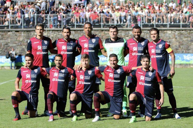 Ritiro Cagliari Calcio, Val di Pejo Trentino