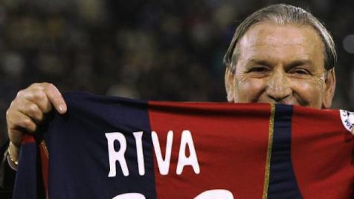 Gigi Riva compie 75 anni: quando incontrò De André a Genova